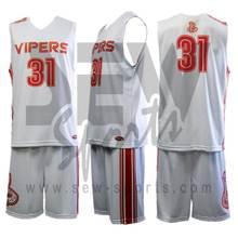 New Sublimation Basketball Uniform