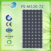 Home solar power generator system 120w solar panel system