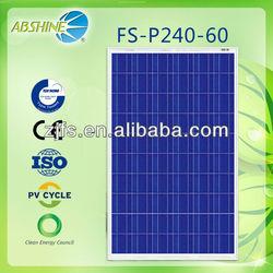 Best price per watt evacuated solar panels of FS-P240-36