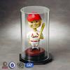 Circular Single Acrylic Doll/Bobble Head Display Case with Round Base