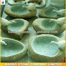 Granite Birdbath For Garden Usage