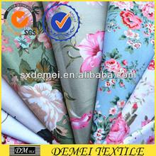 print wholesale cotton fabric design woven textile