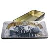 metal rectangular chocolate tin box