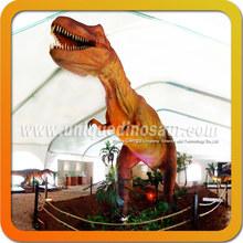 Dinossauro escultura T - Rex para parque de diversões dinossauro máquina