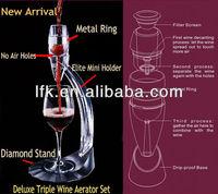 2013 Newest Triple Magic Wine Aerator Set LFK-020B