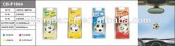 Car air freshener/Football shape hanging car air freshener