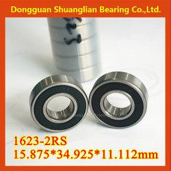 "1623 1623-2RS 5/8""x1 3/8""x7/16"" high performance china inch Sealed Ball Bearings ltd"