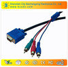 Good quality vga to rca cable many colors