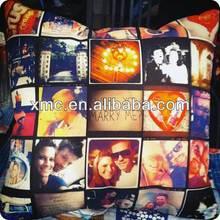 custom sublimation heat transfer full color print popular cushion