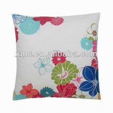 custom sublimation heat transfer full color print bean bag seat cushion