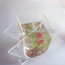 Transparent acrylic aquarium stand