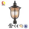 Unique decorative post lamp