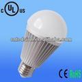 De alta eficiencia 115lm/w 8w a60 bombilla led e27