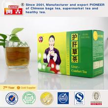 Chinese organic liver detox bagtea recipe