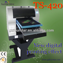 A2 T-Shirt Direct To Garment Printer A2 or A4 Size digtal printing machine