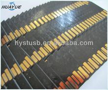 Semi-finished Black colloid usb flash drive 4GB