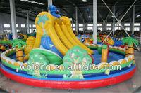 Inflatable slide games / inflatable sliding board