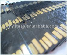 Black colloid usb flash drive 128MB