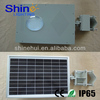 New product all in one 12V/12W Bridgelux solar lamps for graves CE/RoHS/IP65 approved
