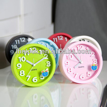 colorful table clock