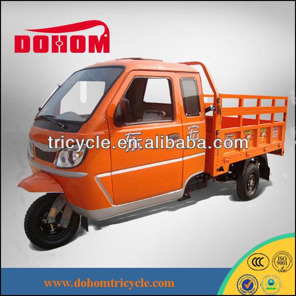 hot sale cargo enclosed 3 wheel motorcycle