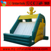Interesting small yellow duck games inflatable slide