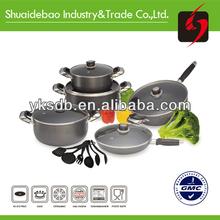 Nuevo ollas de aluminio utensilios de cocina