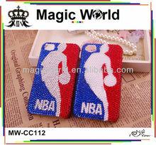 HOT!! NBA basketball star diamond mobile phone case for sony