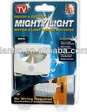 2013 New Sensor Activated Indoor and Outdoor MIGHTY LIGHT