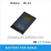 BL-5J BL 5J Battery mobile for Nokia 5230 X6 X1 C3 5800 N900 Wholesale