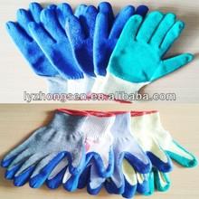 glass working gloves 7G,10G,13G,15G knitting glove