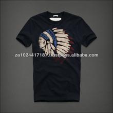 Fashion Men Black T-Shirt Hot Sale