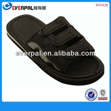 Velcro strap man s slipper