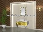 stainless steel bathroom storage cabinet