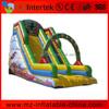 Interesting spongebob squarepants inflatable slide