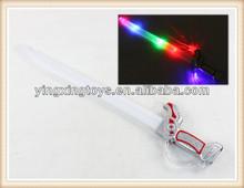 venta caliente niños juguetes de plástico de luz cuchillo hasta juguetes