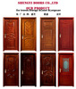selling well around world wood door pictures from China
