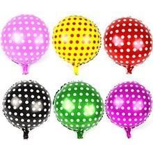 18inch polka dot foil balloons for wedding&party balloons