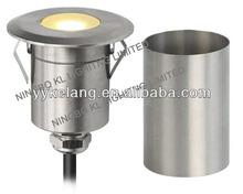 Outdoor led floor light marine grade 316 stainless steel IP67 waterproof 12V led in ground light