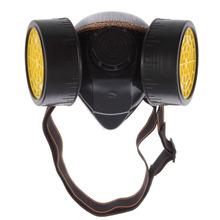 Unti-Dust Spray Industrial Gas Dual cartridge Dusk Chemical Respirator Mask Respirator Smoke Mask