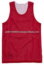 custom reversible basketball singlet jerseys