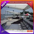 el espacio de diseño de la estructura truss para feria