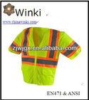 Hi-Viz Reflective Safety Vest Safety Shirt Jacket