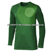 Football goalkeeper uniform Green color
