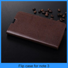 For galaxy note 3 leather case Luxury Vintage premium real genuine wallet flip leather case for galaxy note 3 (PT-SN3L208)