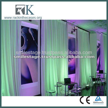 2014 RK Wedding drapery,home drapery fabric for events with high quality