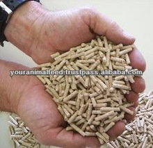 Wheat Bran Pellets for Animal Feeding