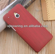 Cellphone plastic case cover For HTC one Mini M4 wooden style