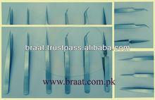 Braat eyelash extension tweezers for 0.05 mm fine pointed tip Stainless steel tweezers
