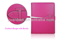 2014 smart design PU case for ipad and cover for Ipad 5 with energy-saving